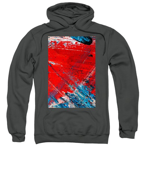 Abstract Original Artwork One Hundred Phoenixes Untitled Number Five Sweatshirt