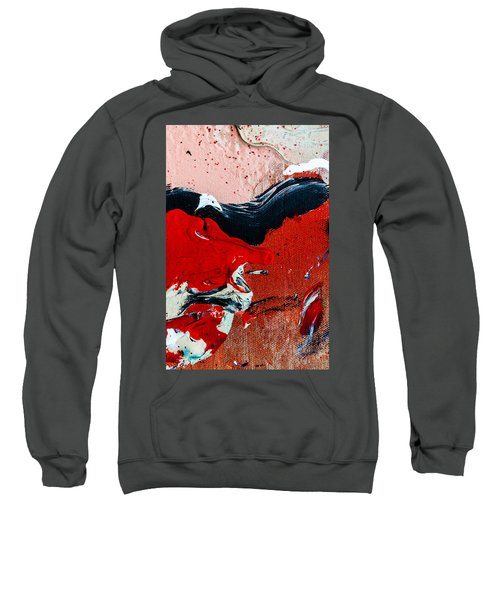 Abstract Original Artwork One Hundred Phoenixes Untitled Number Four Sweatshirt