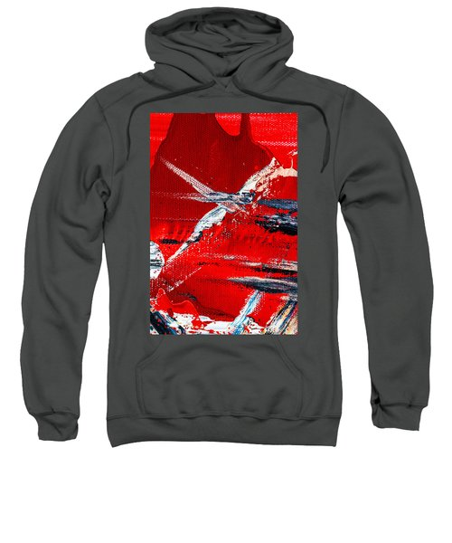 Abstract Original Artwork One Hundred Phoenixes Untitled Number Seven Sweatshirt