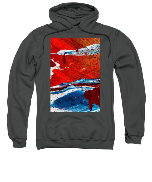 Abstract Original Artwork One Hundred Phoenixes Untitled Number Three Sweatshirt