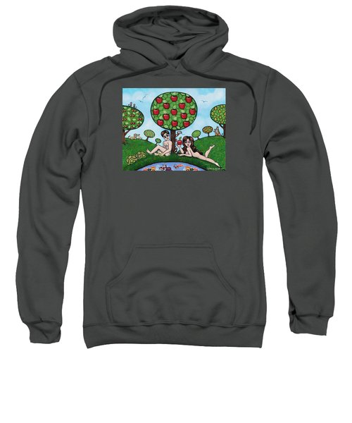 Adam And Eve The Naked Truth Sweatshirt