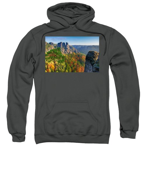 After The Sunrise On The Bastei Sweatshirt