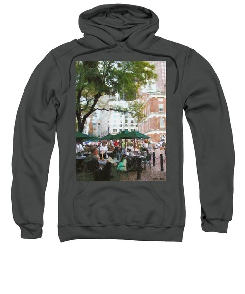 Afternoon At Faneuil Hall Sweatshirt