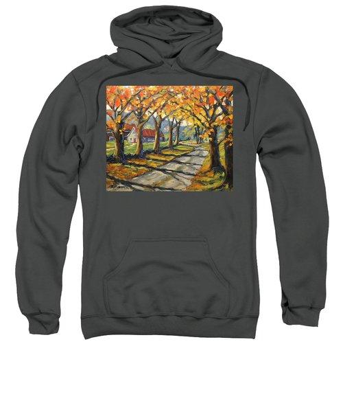 Afternoon Shadows By Prankearts Sweatshirt
