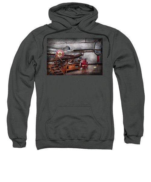 Airplane - The Repair Hanger  Sweatshirt