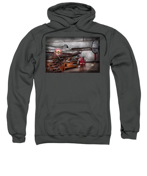 Airplane - The Repair Hanger  Sweatshirt
