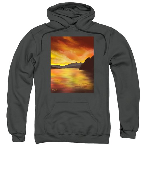 Alaska Sunset Sweatshirt