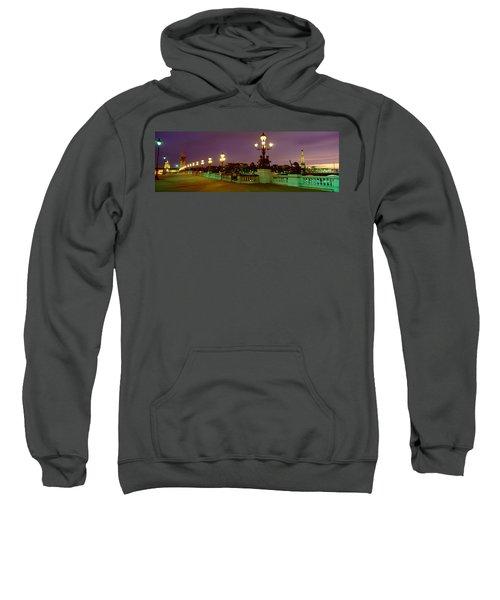 Alexander IIi Bridge, Paris, France Sweatshirt