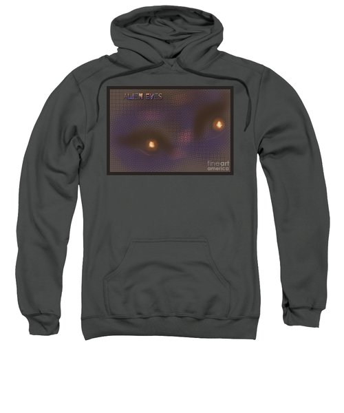 Alien Eyes 4 Sweatshirt