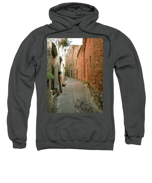 Alley In Tourrette-sur-loup Sweatshirt