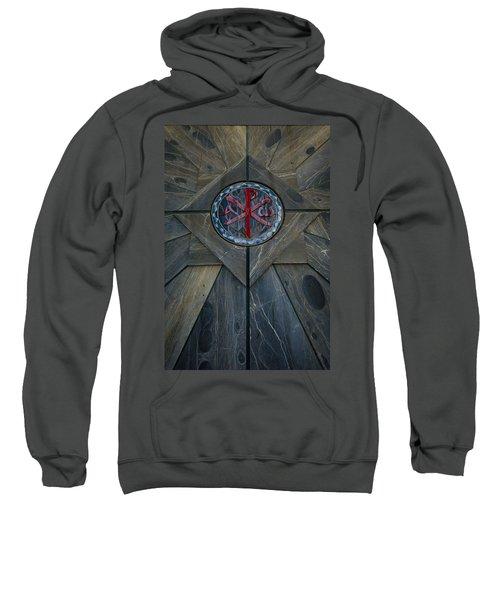 Alpha And Omega Chi Rho Sweatshirt