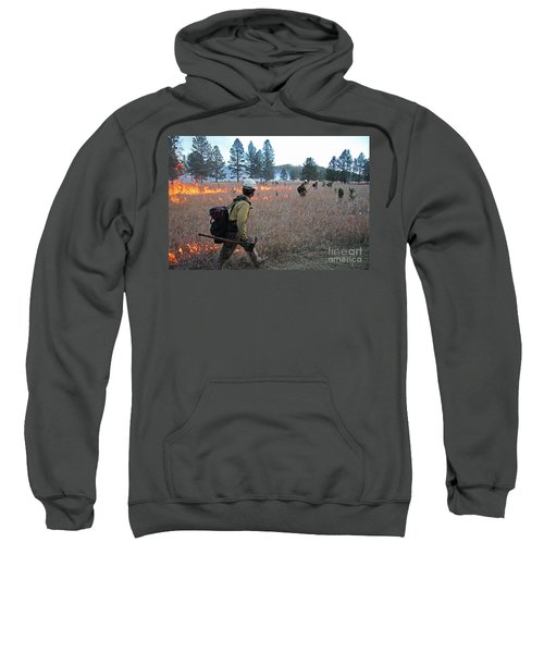 Alpine Hotshots Ignite Norbeck Prescribed Fire Sweatshirt