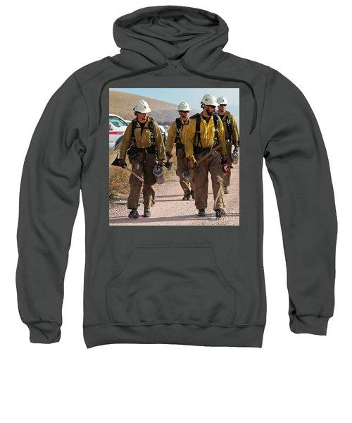 Alpine Hotshots Prepare To Ignite Cold Brook Prescribed Fire Sweatshirt