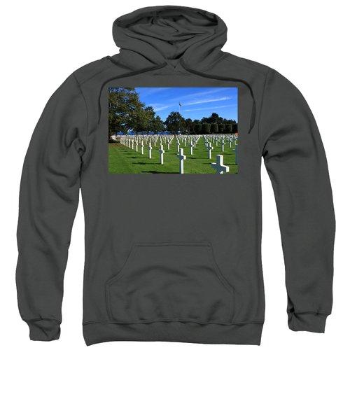 American Cemetery Normandy Sweatshirt