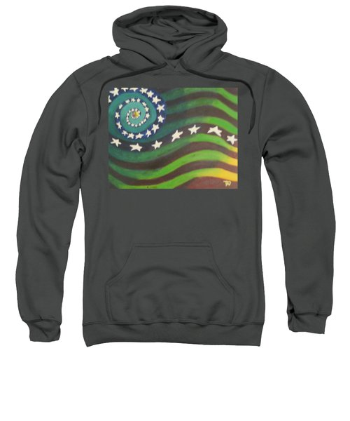 American Flag Reprise Sweatshirt