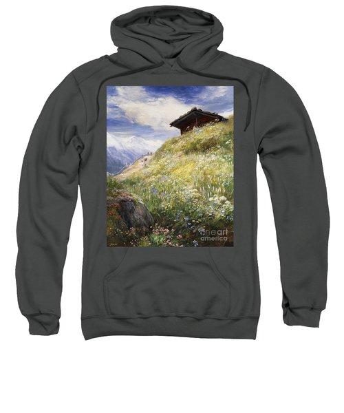 An Alpine Meadow Switzerland Sweatshirt
