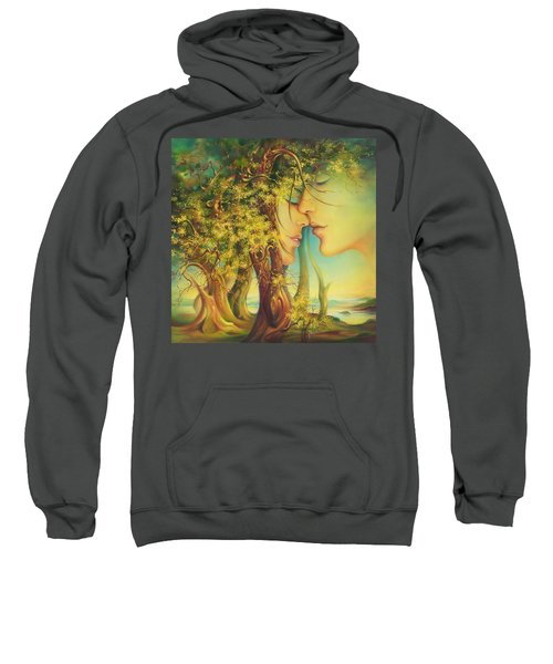 An Encounter At The Edge Of The Forest Sweatshirt