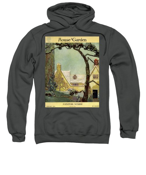 An English Country House Sweatshirt