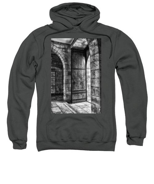 An Open Door  Bw Sweatshirt
