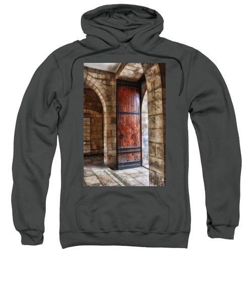 An Open Door Color Sweatshirt