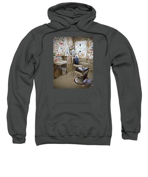 Angel Delgadillo's Barber Shop Sweatshirt