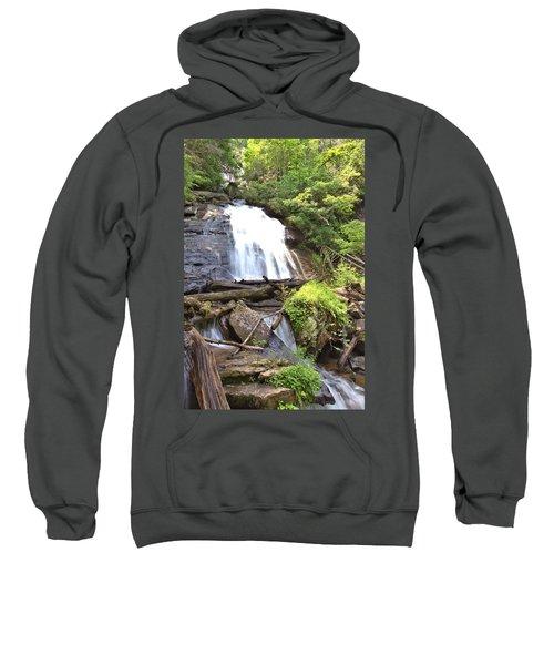 Anna Ruby Falls - Georgia - 4 Sweatshirt