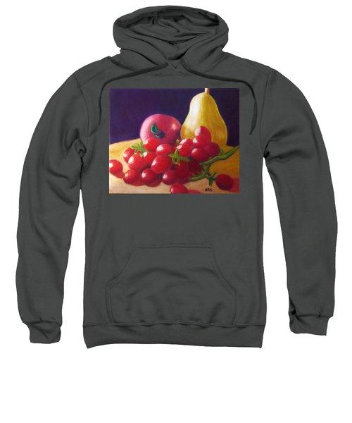 Apple Pear Grapes Sweatshirt