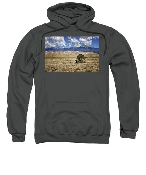 Approaching Great Sand Dunes #3 Sweatshirt