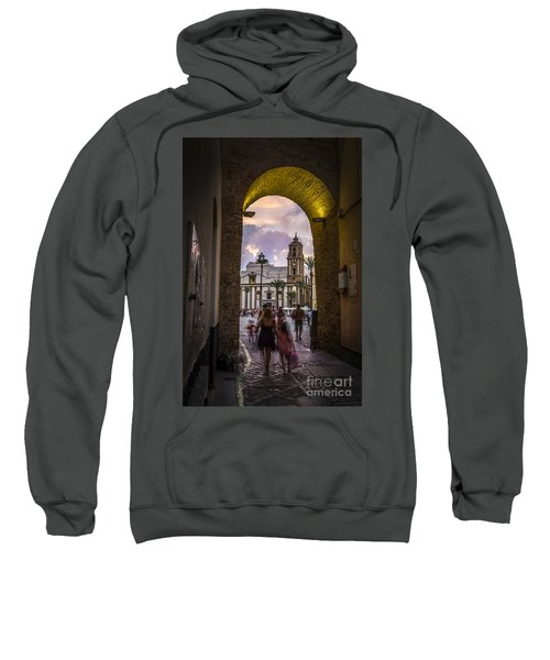 Arc Of The Rose Cadiz Spain Sweatshirt