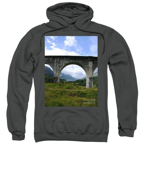 Sweatshirt featuring the photograph Arched Loch by Denise Railey