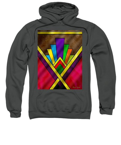 Art Deco Pattern 7v Sweatshirt