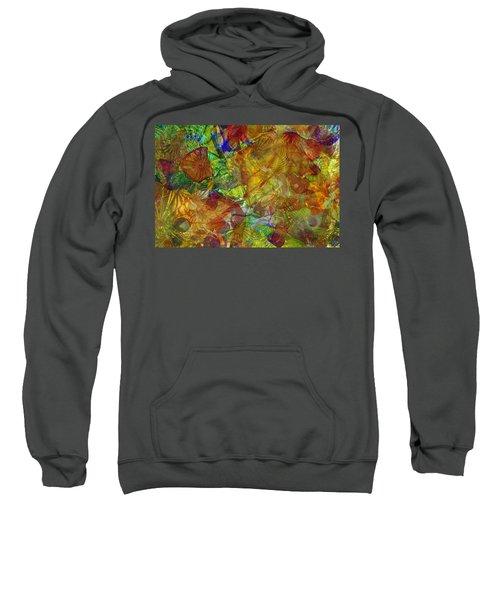 Art Glass Overlay Sweatshirt