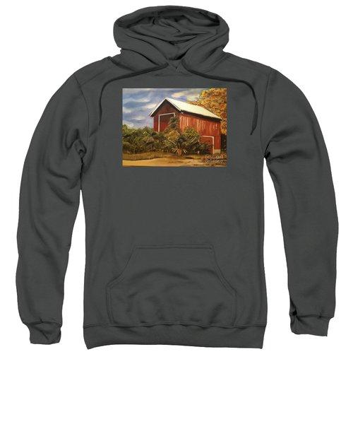 Autumn - Barn - Ohio Sweatshirt