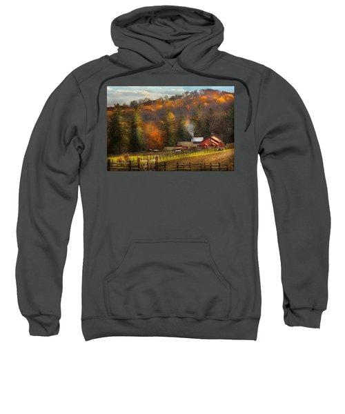 Autumn - Barn - The End Of A Season Sweatshirt