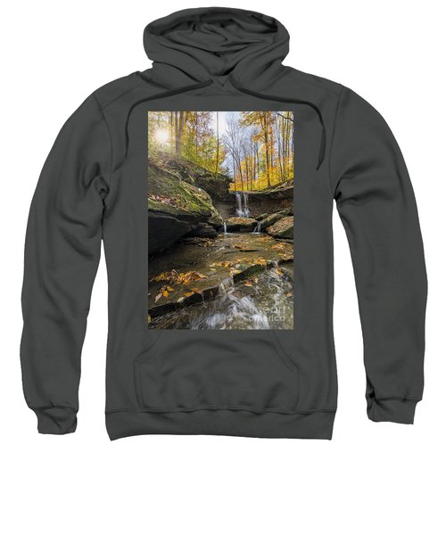 Autumn Flows Sweatshirt by James Dean