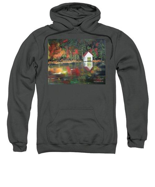 Autumn - Lake - Reflecton Sweatshirt