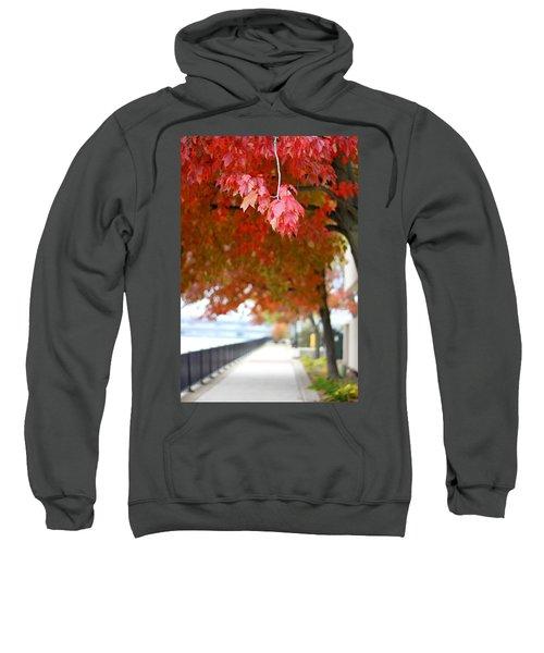 Autumn Sidewalk Sweatshirt