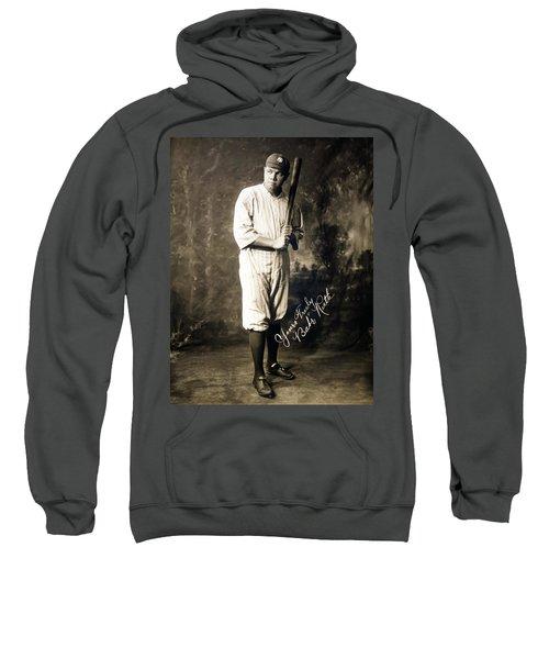 Babe Ruth 1920 Sweatshirt by Mountain Dreams