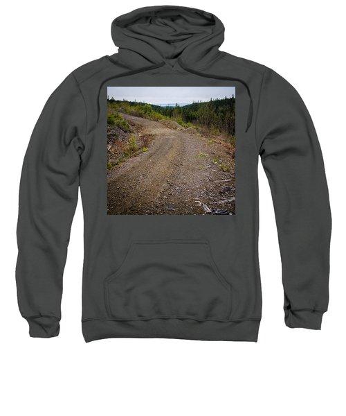4x4 Logging Road To Adventure Sweatshirt