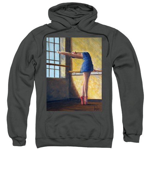 Ballet Dancer Warm Up Sweatshirt