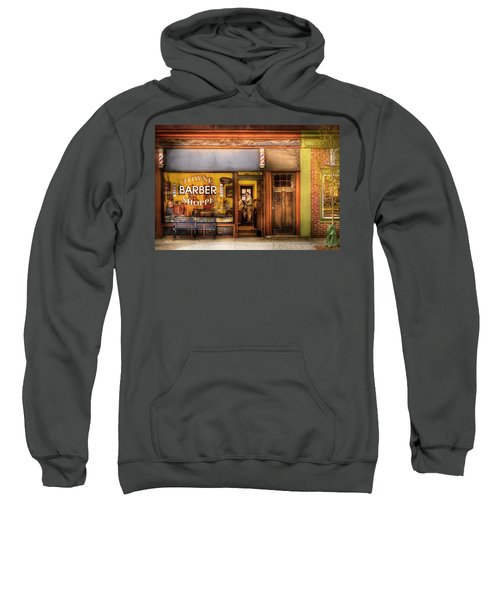 Barber - Towne Barber Shop Sweatshirt