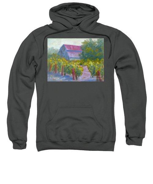 Barn In Vineyard Sweatshirt
