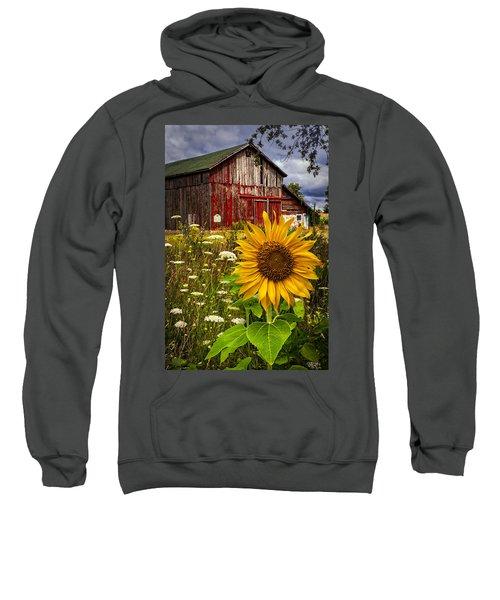 Barn Meadow Flowers Sweatshirt