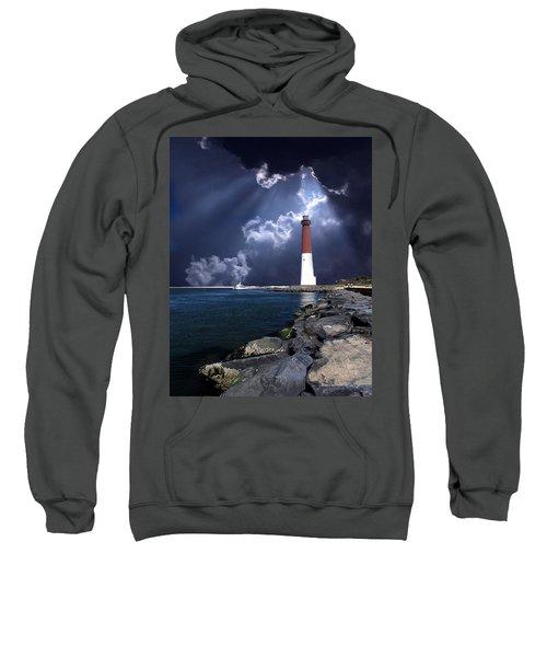 Barnegat Inlet Lighthouse Nj Sweatshirt