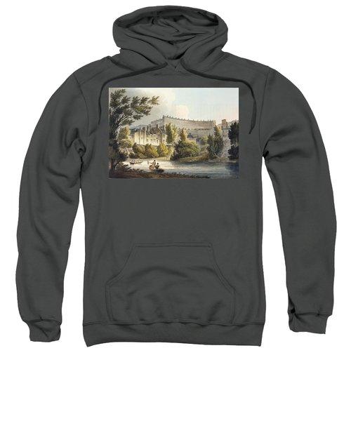 Bath Wick Ferry, From Bath Illustrated Sweatshirt