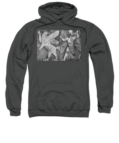 Battle Between Marduk And Zu Sweatshirt
