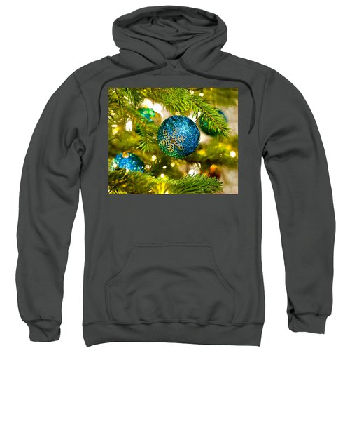 Bauble In A Christmas Tree  Sweatshirt