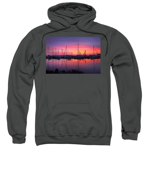 Bayfield Wisconsin Magical Morning Sunrise Sweatshirt
