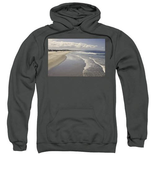 Beach At Santa Monica Sweatshirt