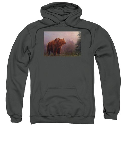 Bear In The Mist Sweatshirt